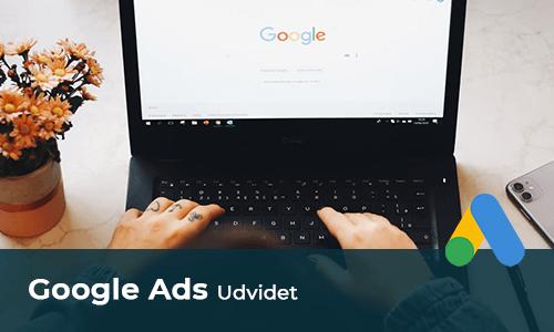Google Ads udvidet kurus