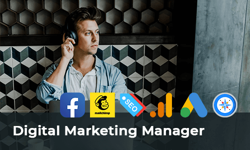 Digital marketing manager kursus