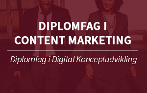 Diplomfag Content marketing