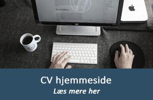 CV hjemmeside