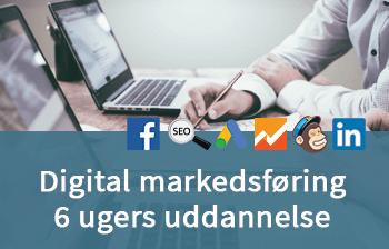 Digital markedsføring 6 gers uddannelse