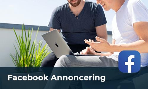 Facebook ads Annoncering