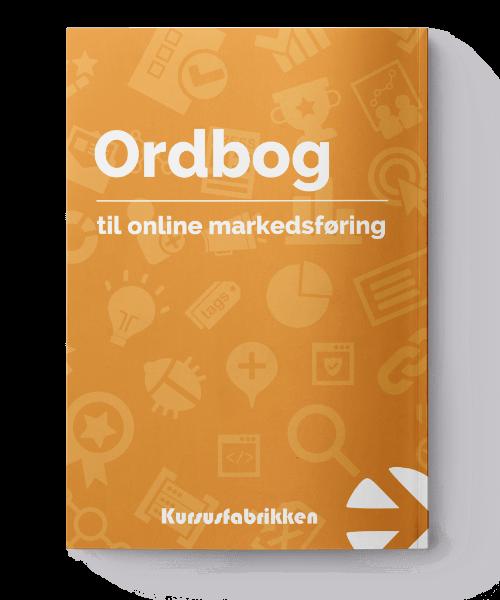 Ordbog til online markedsføring