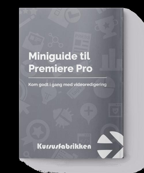 Premiere Pro miniguide