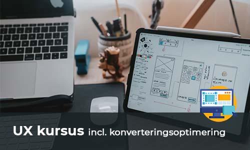 UX og konverteringsoptimering - Kursusfabrikken.dk
