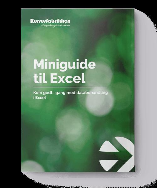 miniguide Excel