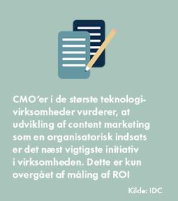 content marketing vækst