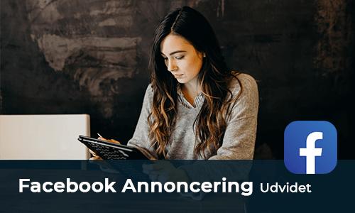 Facebook annoncering kursus udvidet