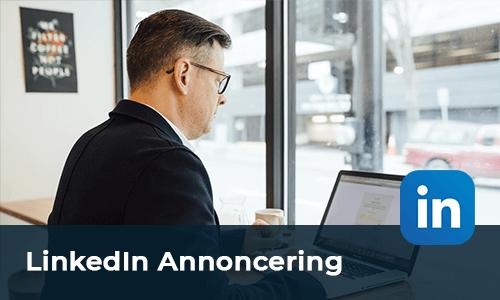 LinkedIn Annoncering Kursusfabrikken
